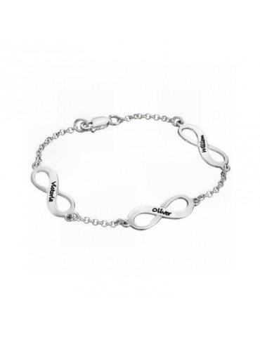 Bracelet avec médaillons...
