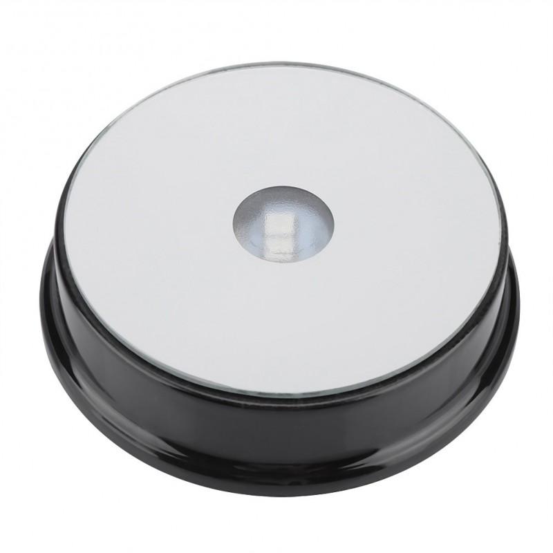Socle rond en plastique 7 couleurs à éclairage à LED