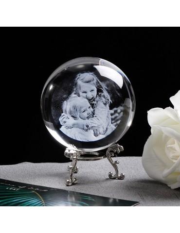 Boule Photo cadeau en verre...