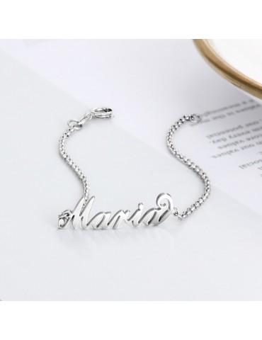 Bracelet prénom en idée cadeau personnalisée