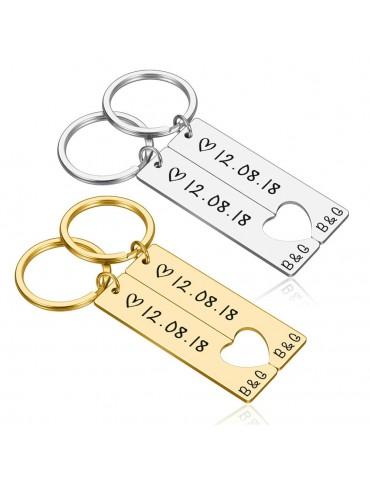 Porte-clés personnalisé à...